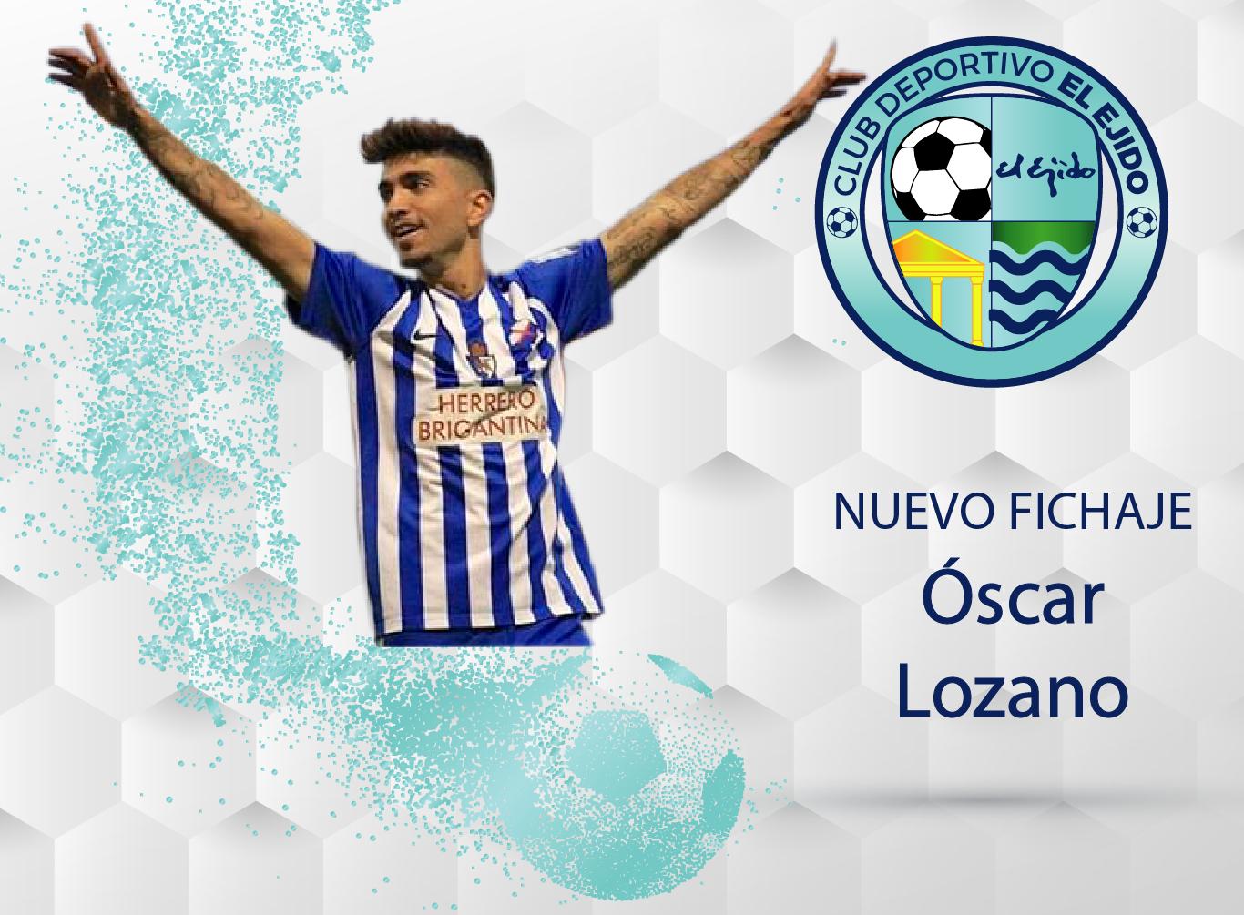 Óscar Lozano defenderá la elástica celeste