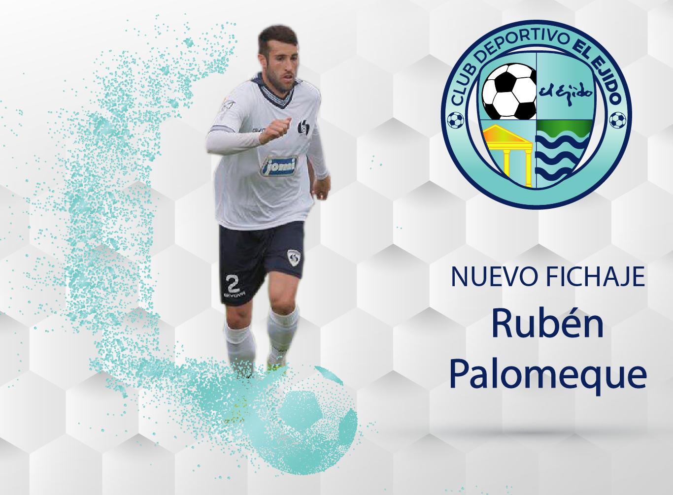 Rubén Palomeque, nuevo jugador del CD El Ejido