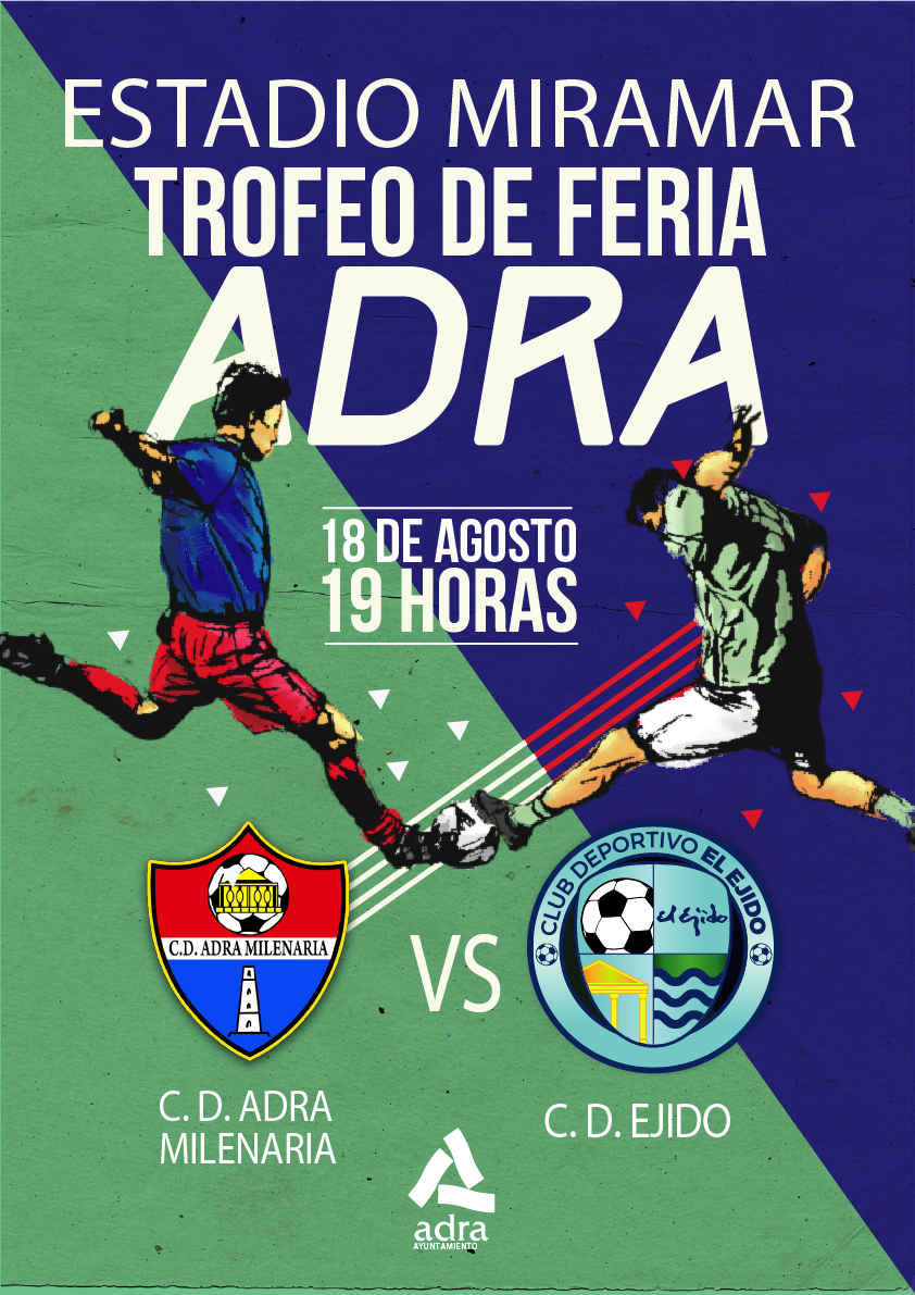 El CD El Ejido jugará frente al Adra Milenaria el Trofeo de Feria de Adra