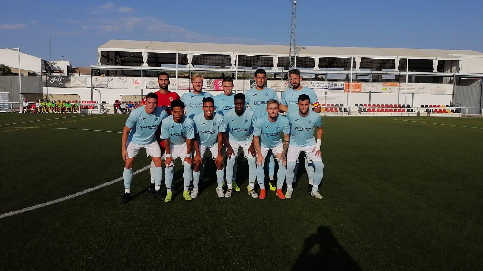 El Berja CF empieza el campeonato perdiendo en Begíjar también por la mínima