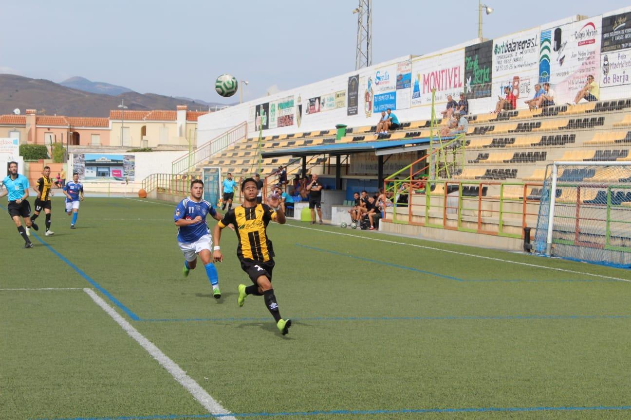 El Berja CF no pudo con el CD Alhaurino que ganaba por 0-2
