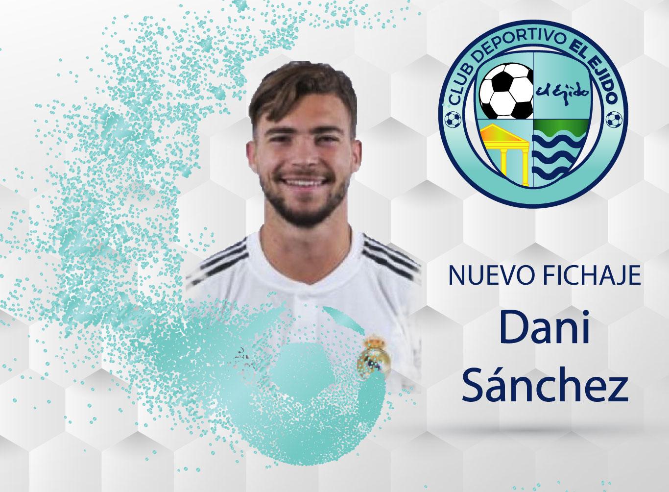 El CD El Ejido ficha al lateral izquierdo Dani Sánchez