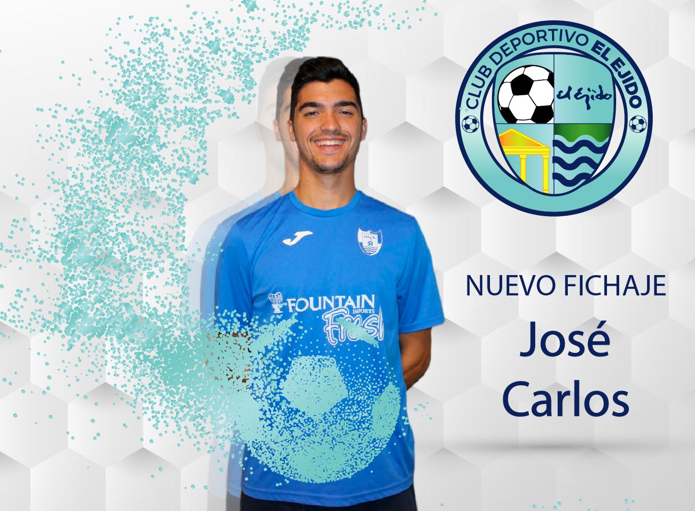 El malagueño José Carlos, nuevo jugador del CD El Ejido