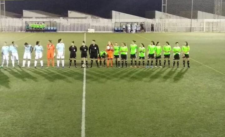 El CD El Ejido Femenino sufre la primera derrota de la temporada