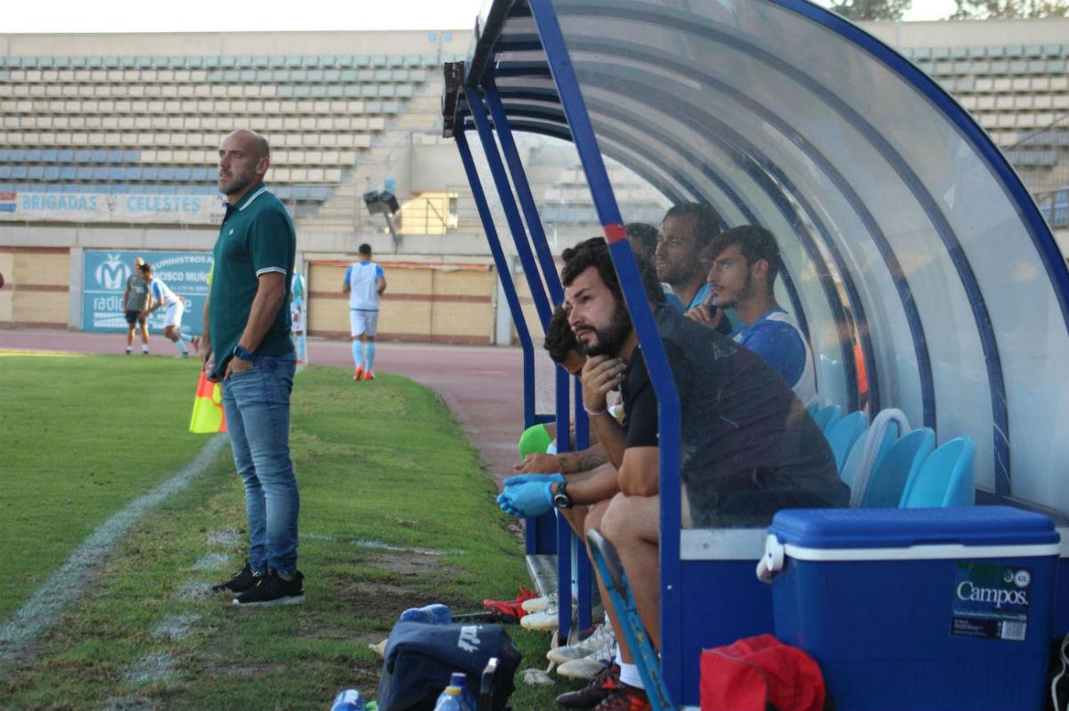 David Cabello muestra su ambición ante el derby del domingo frente al Poli Almería