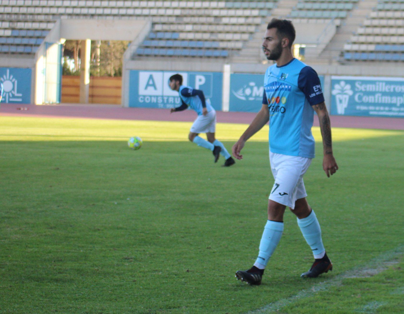 Javier Verdú rescinde su contrato con el CD El Ejido