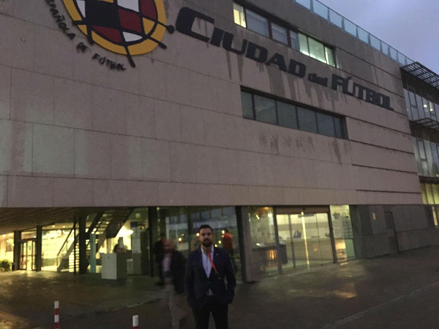El CD El Ejido asiste a la reunión de la RFEF sobre el Programa Impulso 23