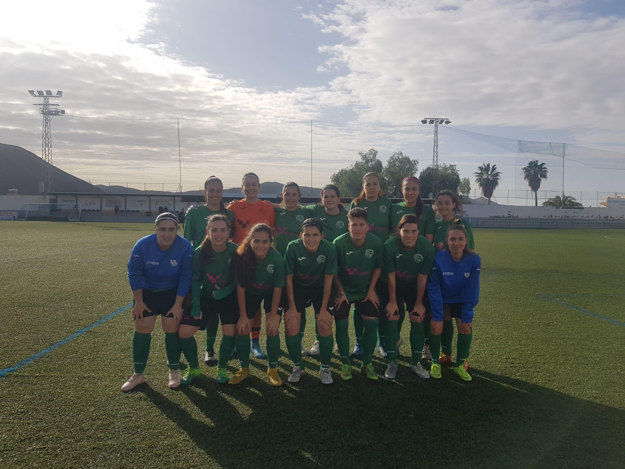 El CD El Ejido de Fútbol Femenino vence 4-0 al Oriente
