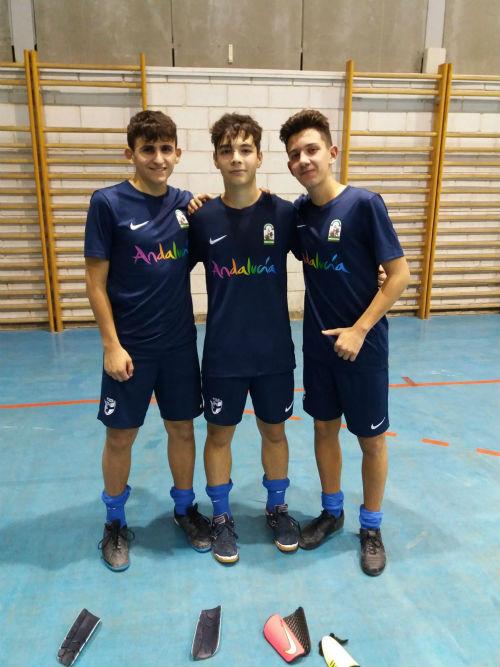 Tres celestes acudirán a la fase previa del Campeonato de España Sub16
