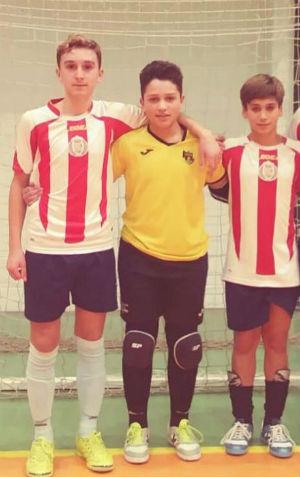 Tres infantiles del CD El Ejido convocados con la Andaluza