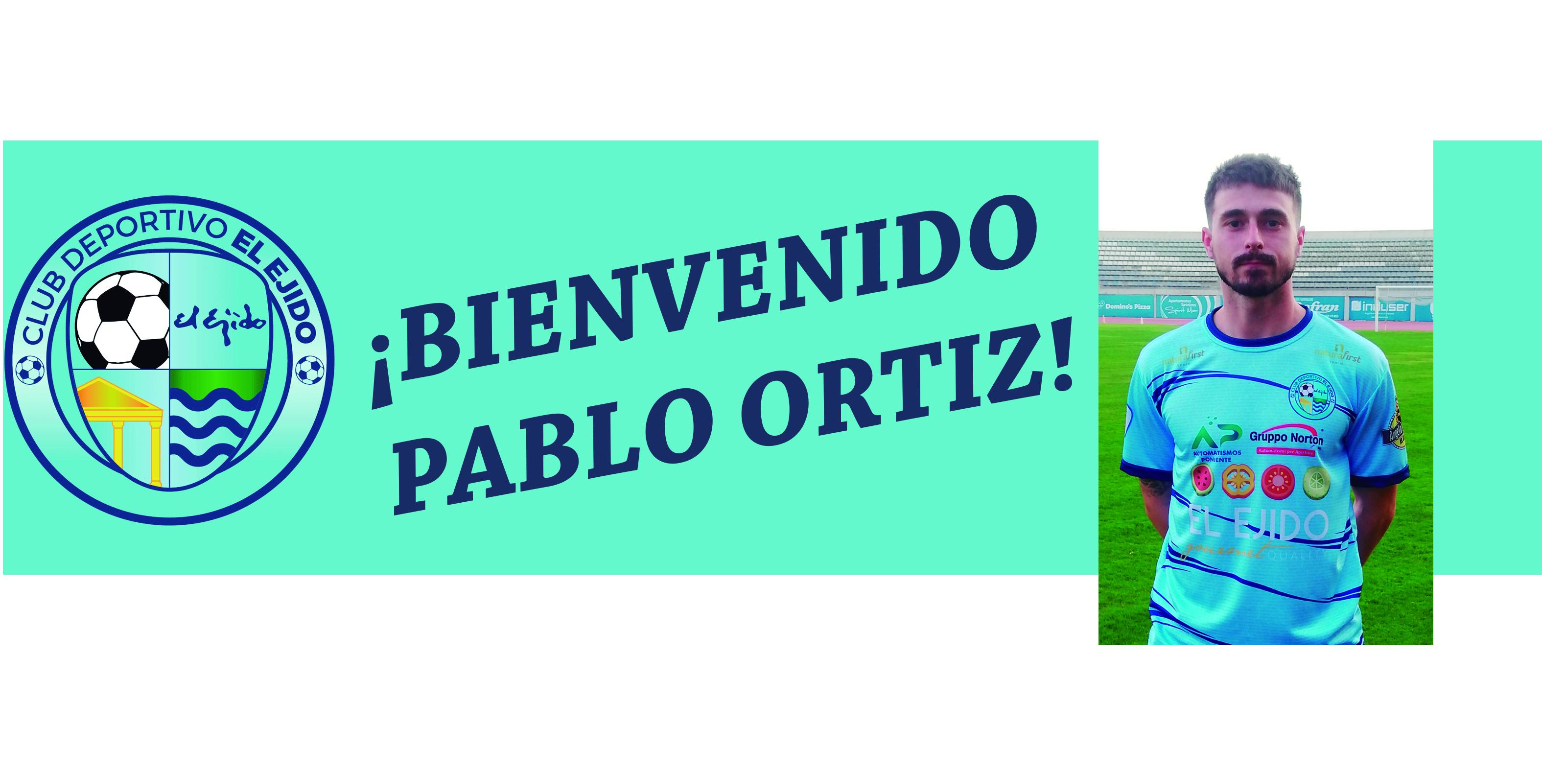 Pablo Ortiz firma con el CD El Ejido