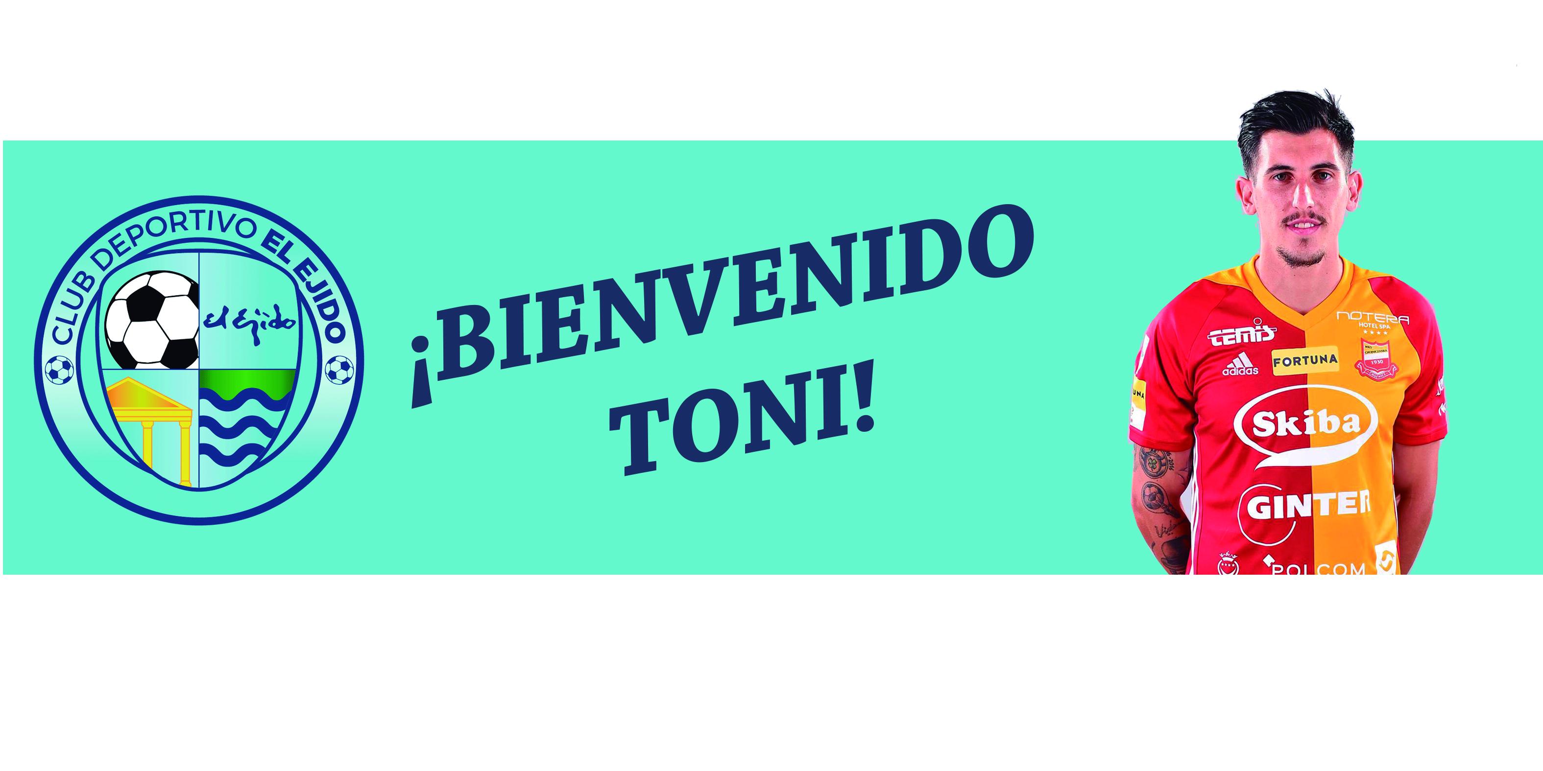 El CD El Ejido ficha a Toni Conejo