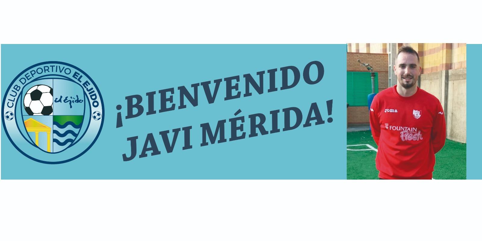 Javi Mérida ya es celeste