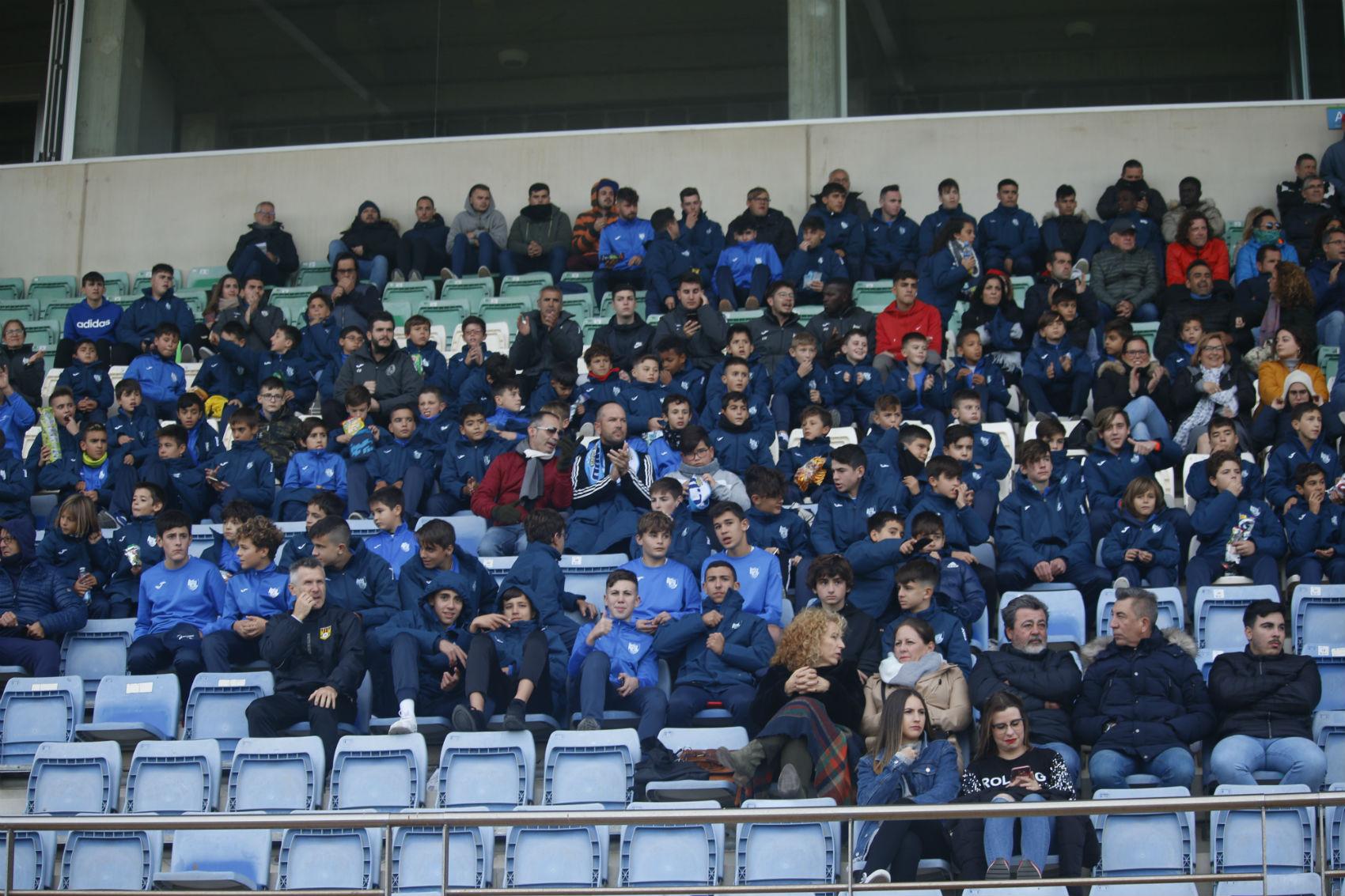 Las bases del CD El Ejido se presentan en el partido ante el Vélez CF