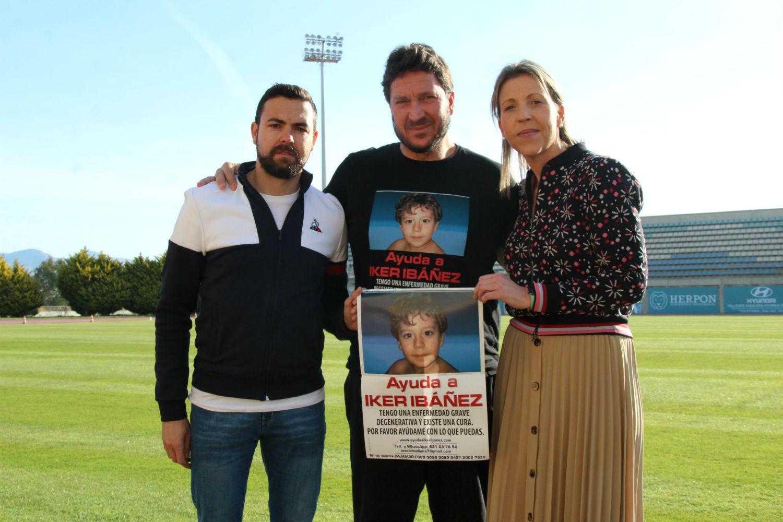 Equipo y afición motivados para volver a superar este domingo al Linares Deportivo en el Día del Club y de Ayuda a Iker Ibáñez