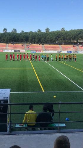 Primera derrota de la segunda vuelta para el Berja CF ante un Estepona que aspira al ascenso