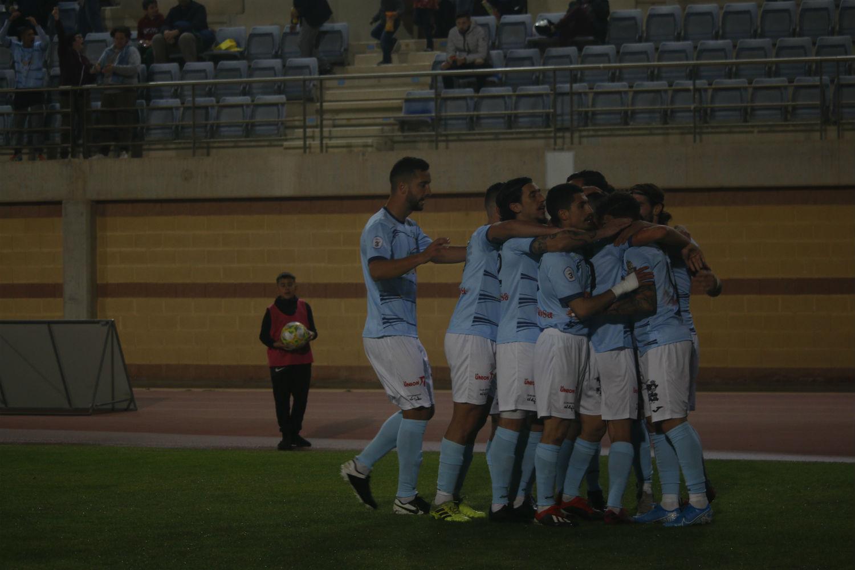 El CD El Ejido decide el derbi frente al Polideportivo Almería con un tanto madrugador un encuentro complicado y competido