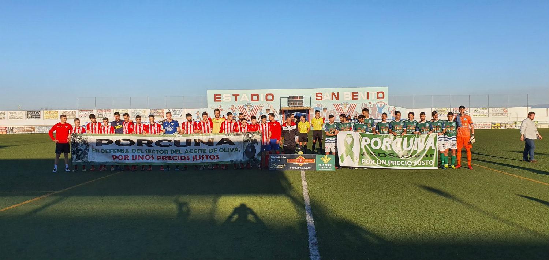 El CD El Ejido supera en todo al Atlético Porcuna goleando y afirmando el segundo puesto