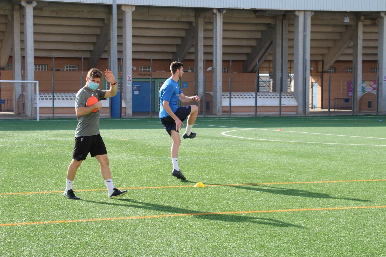 Cuatro jugadores del filial se unen a los entrenamientos del CD El Ejido