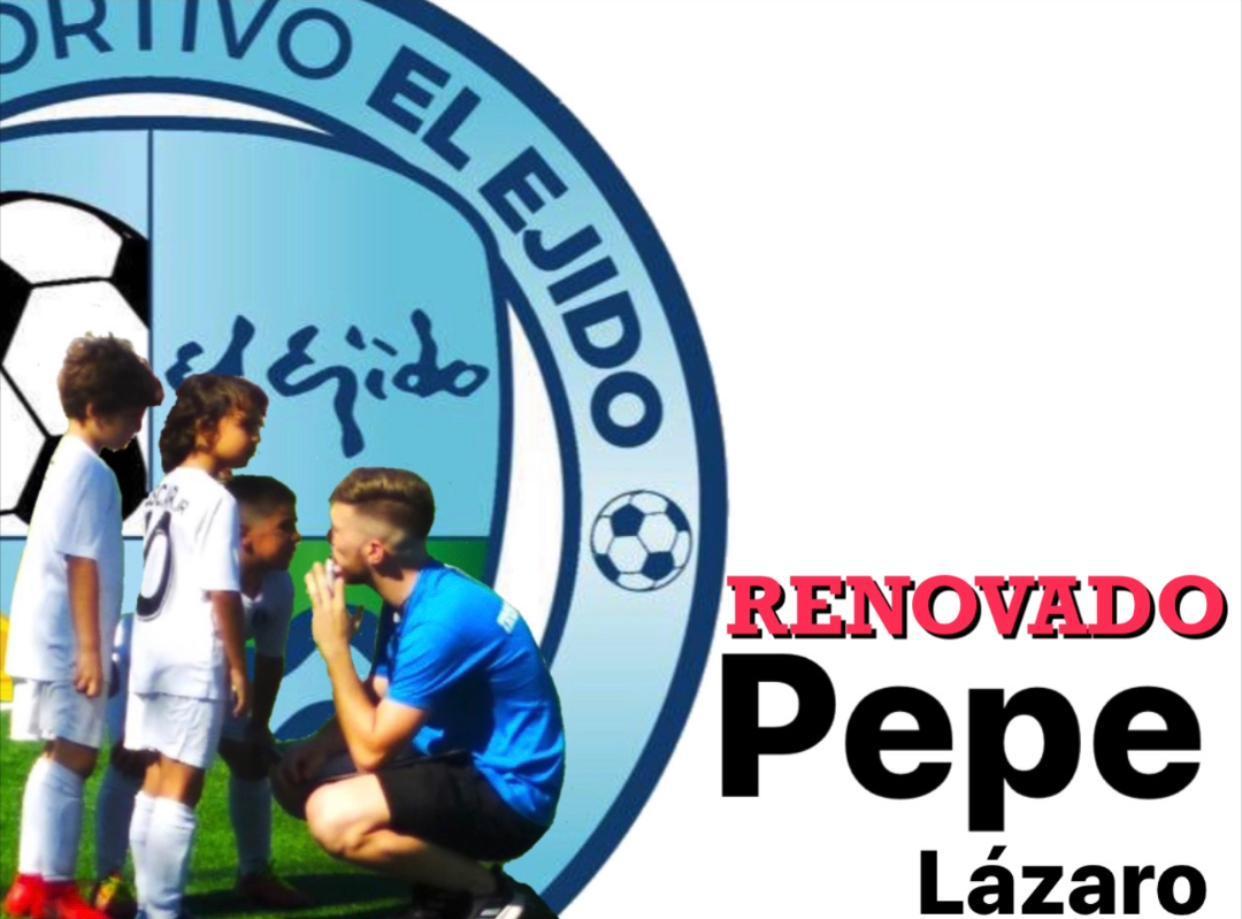 Pepe Lázaro será el técnico del Benjamín de Tercera Andaluza