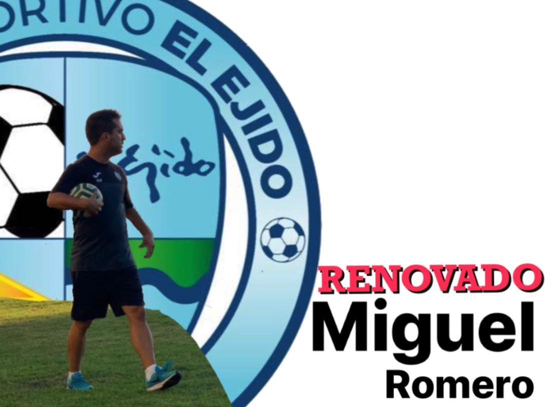Miguel Romero será el entrenador de la Categoría Bebé