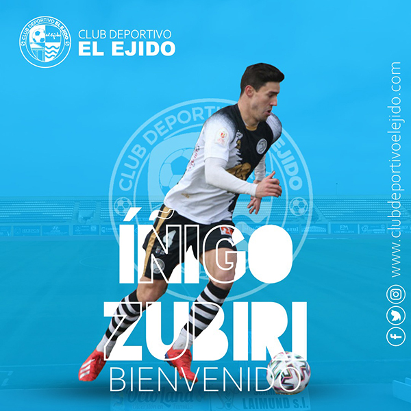 El central Zubiri se incorpora al CD El Ejido
