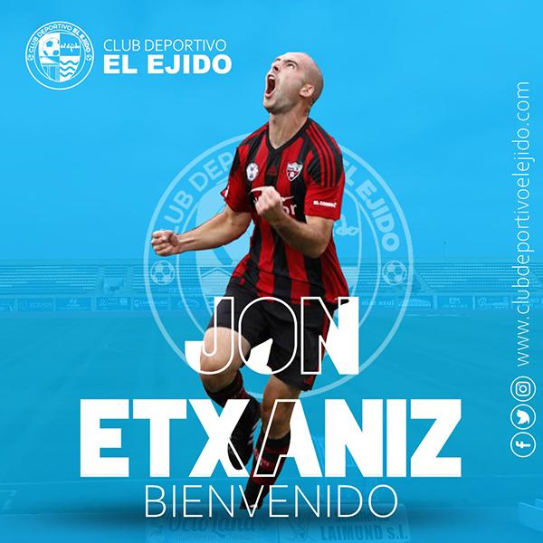 El CD El Ejido firma al delantero Etxaniz