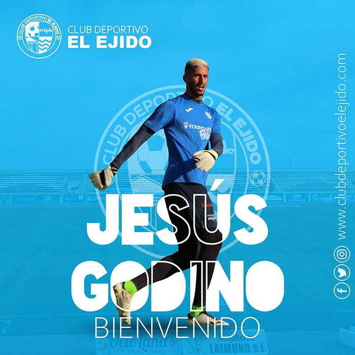 Godino defenderá la portería del CD El Ejido en Segunda B