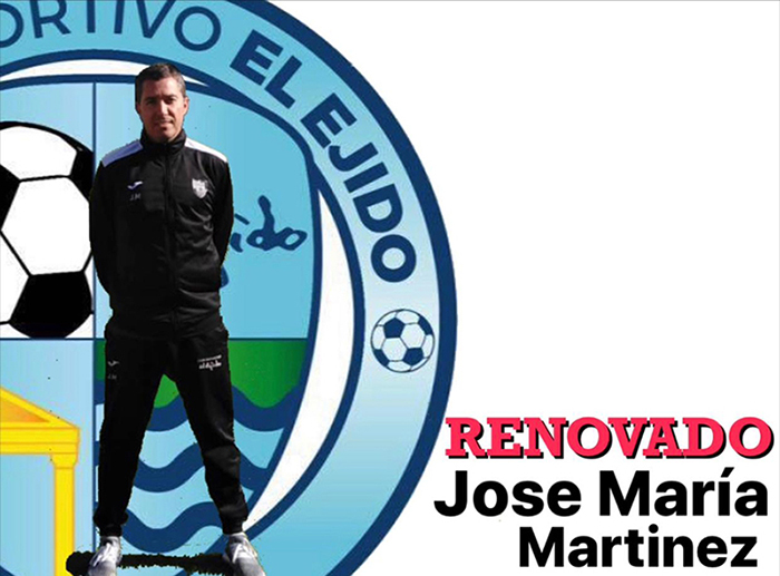 José María Martínez dirigirá al Juvenil A