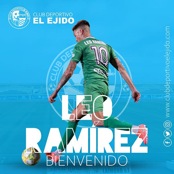 El medio centro Leo Ramírez llega al CD El Ejido