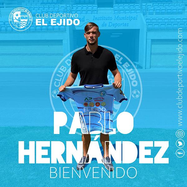 Pablo Hernández se convierte en el Segundo Entrenador del CD El Ejido
