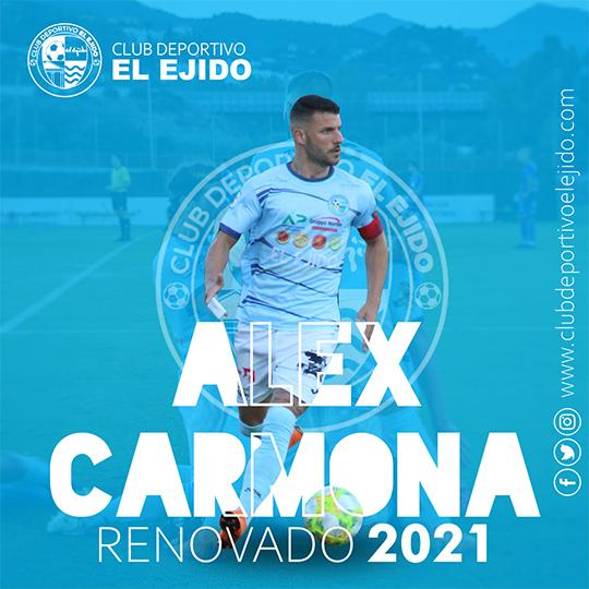 El capitán Álex Carmona seguirá defendiendo la celeste