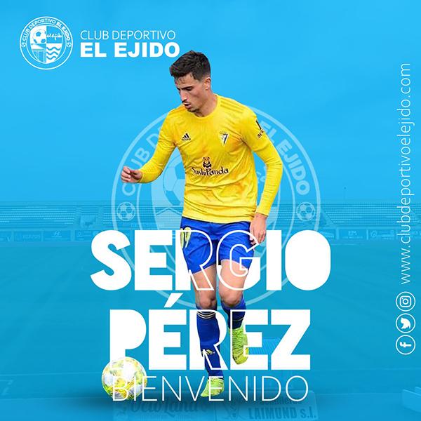 El CD El Ejido firma al extremo Sergio Pérez Jaén