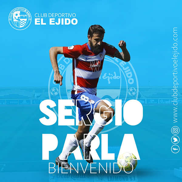 El CD El Ejido firma al centrocampista Parla