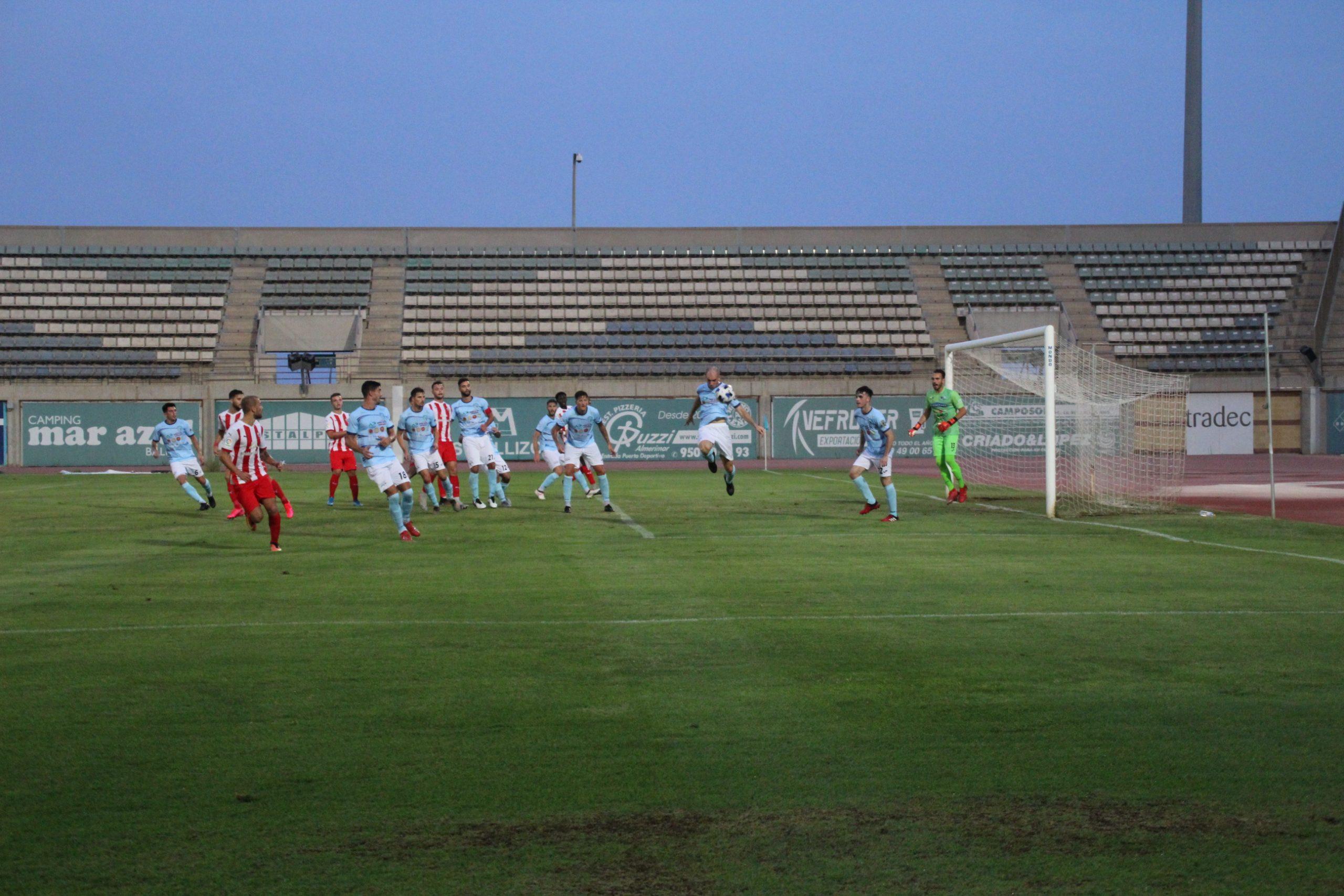 Empate sin goles entre CD El Ejido y UD Almería B