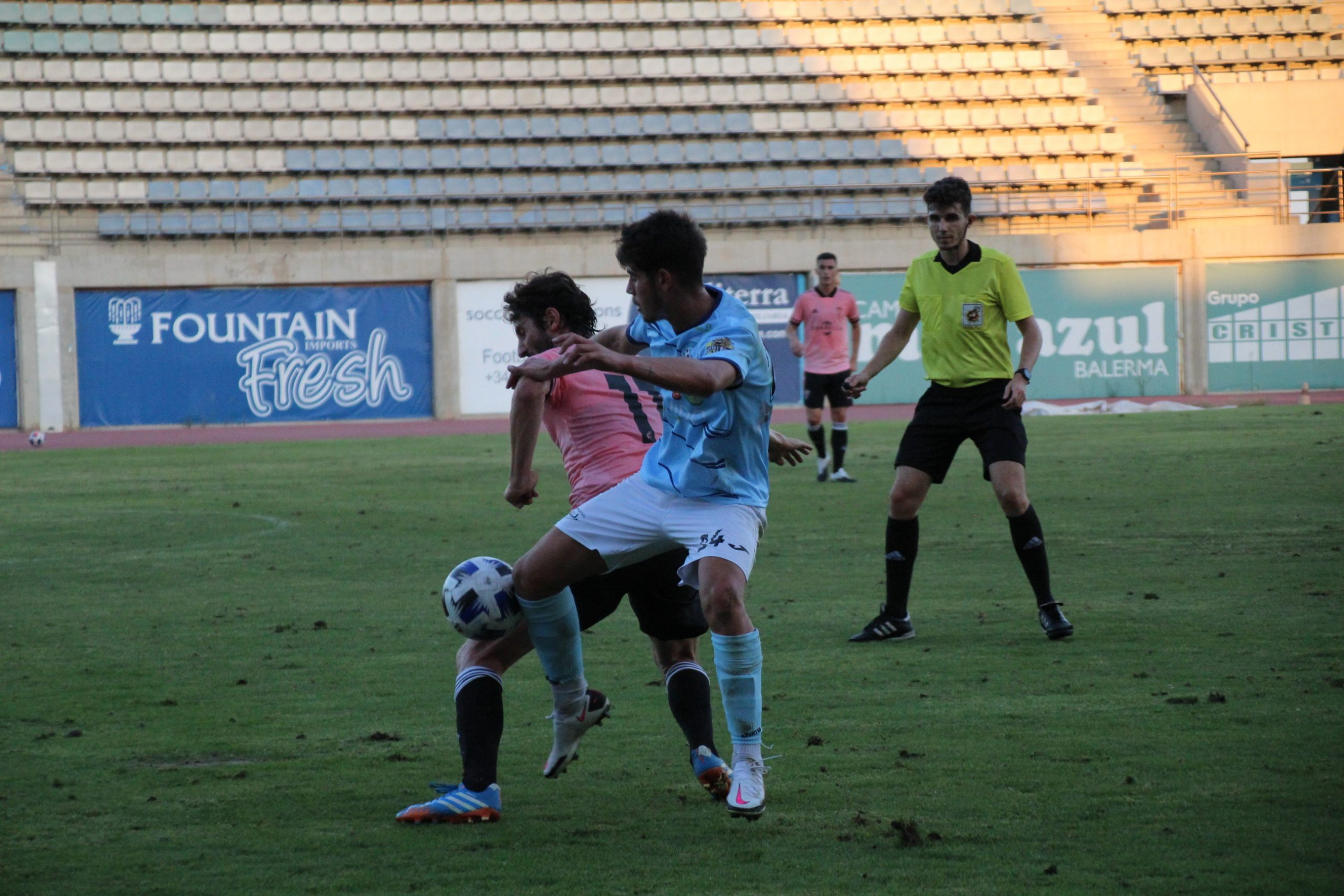 El CD El Ejido no pudo ante un Marbella FC más decisivo