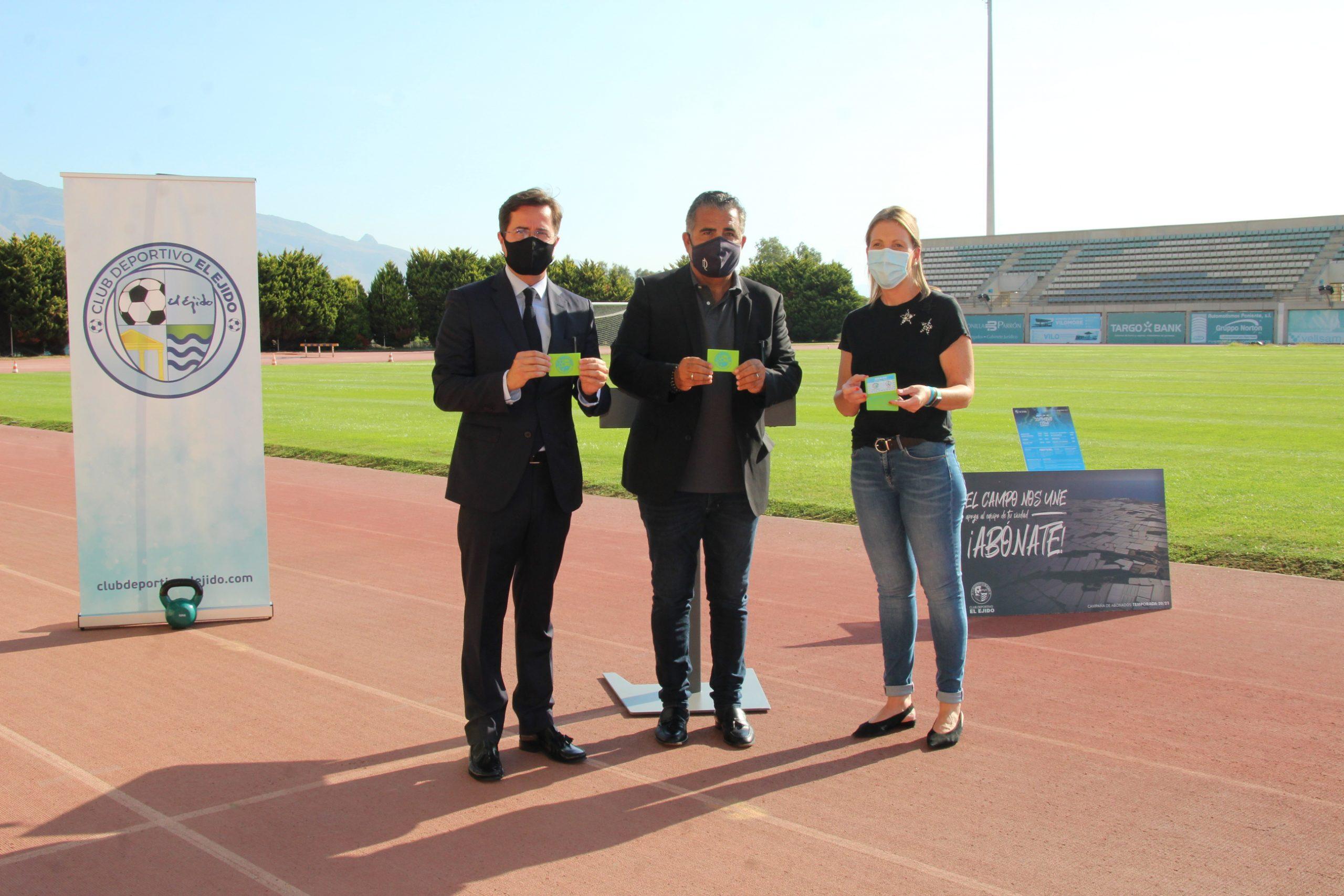 El CD El Ejido busca la complicidad del sector hortofrutícola con la campaña 'El Campo Nos Une'