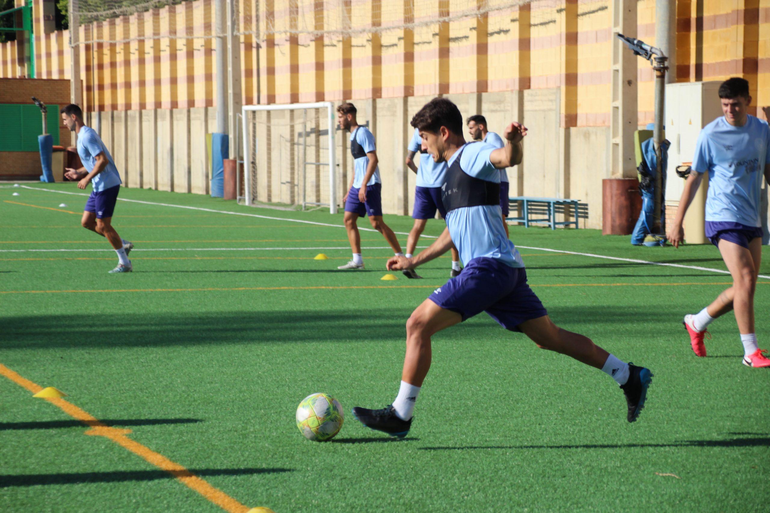 El CD El Ejido disputa hoy su primer amistoso de pretemporada