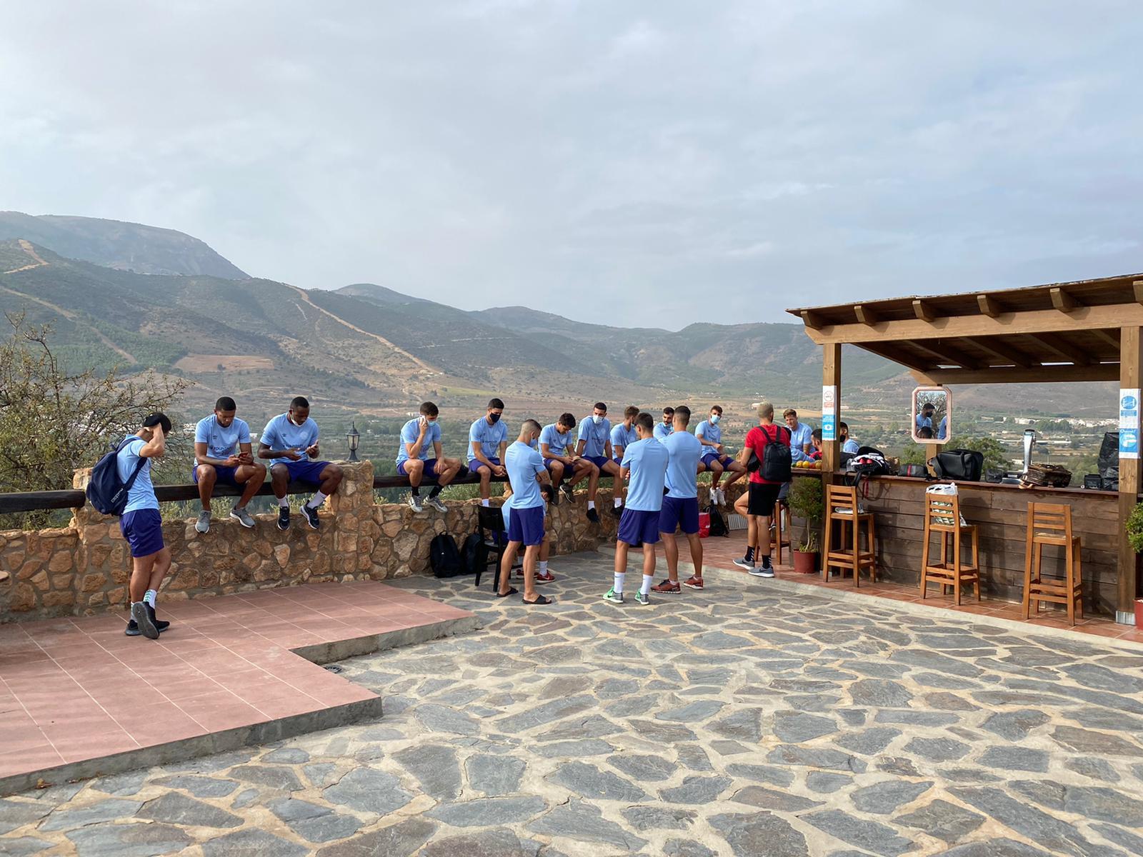 Los de Tito García Sanjuán, de 'gymkana' por la Alpujarra
