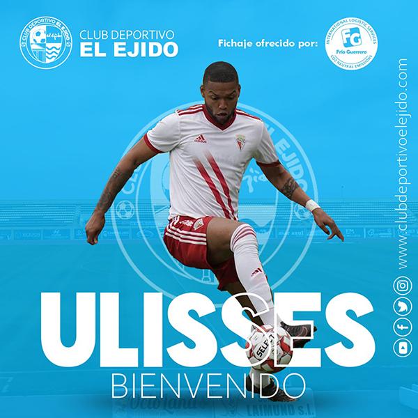 El brasileño Ulisses firma con el CD El Ejido