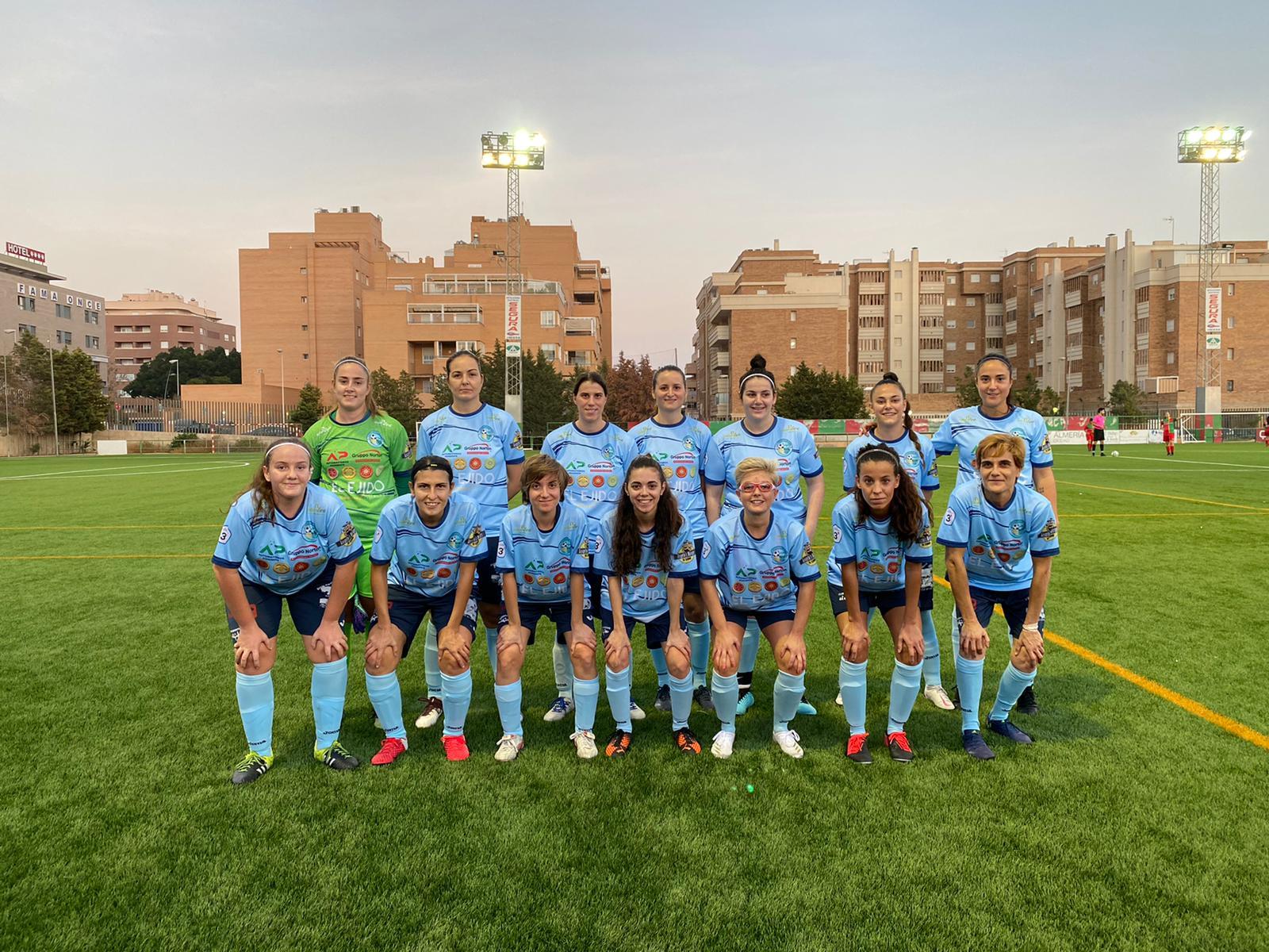 El CD El Ejido Femenino cae 3-1 ante el Pavía