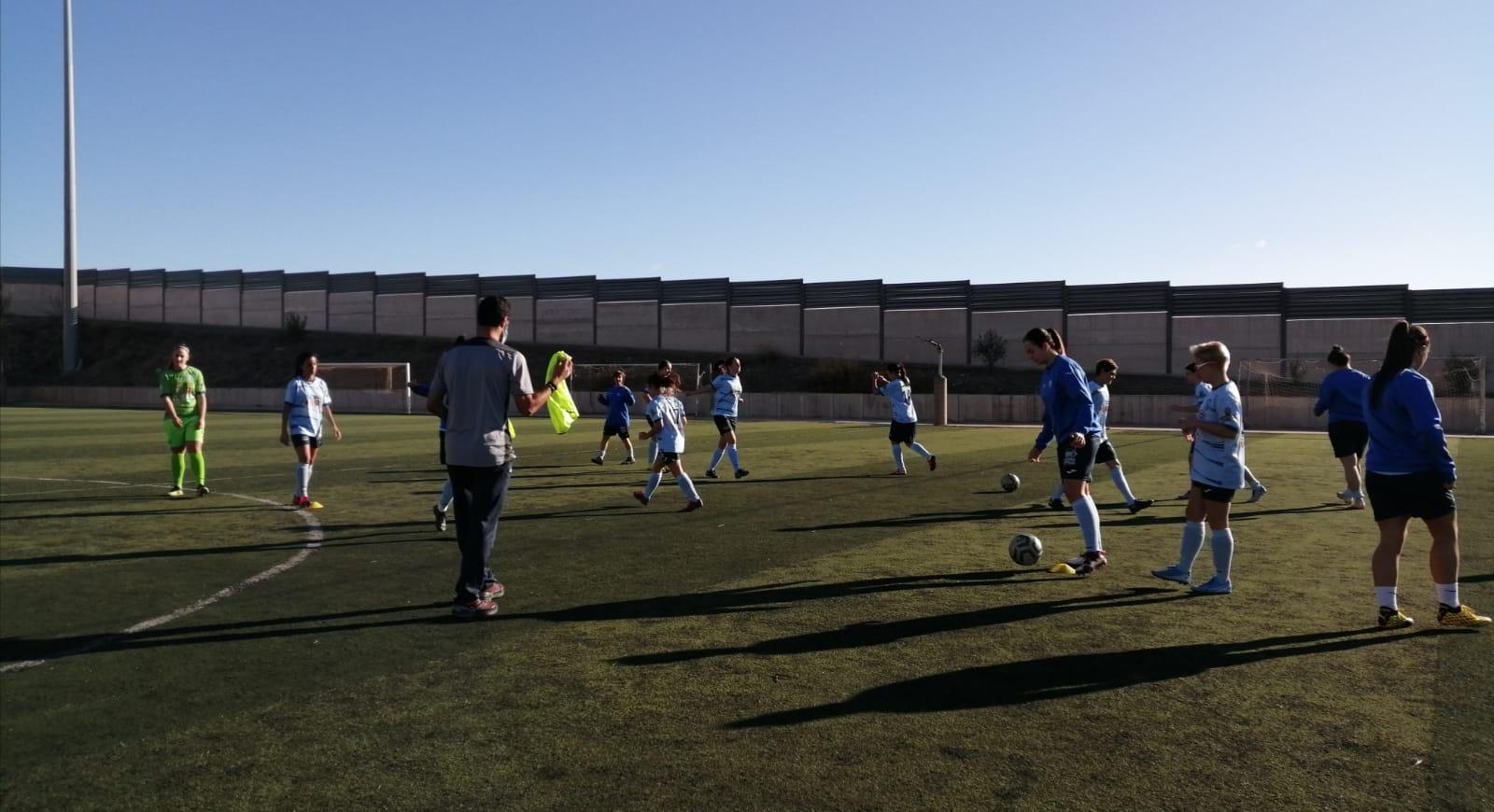 Lluvia de goles del Sénior Femenino ante el Cuevas CF