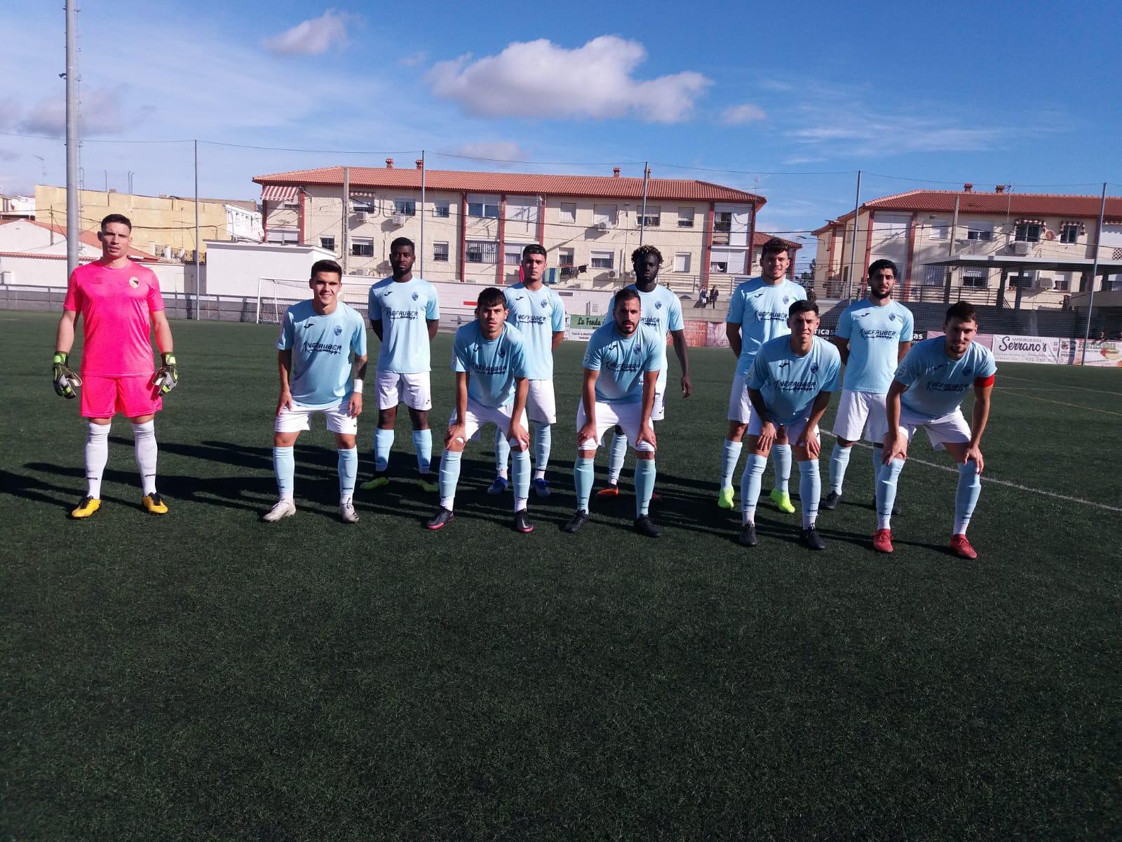 Contundente victoria a domicilio del Berja CF ante el Churriana