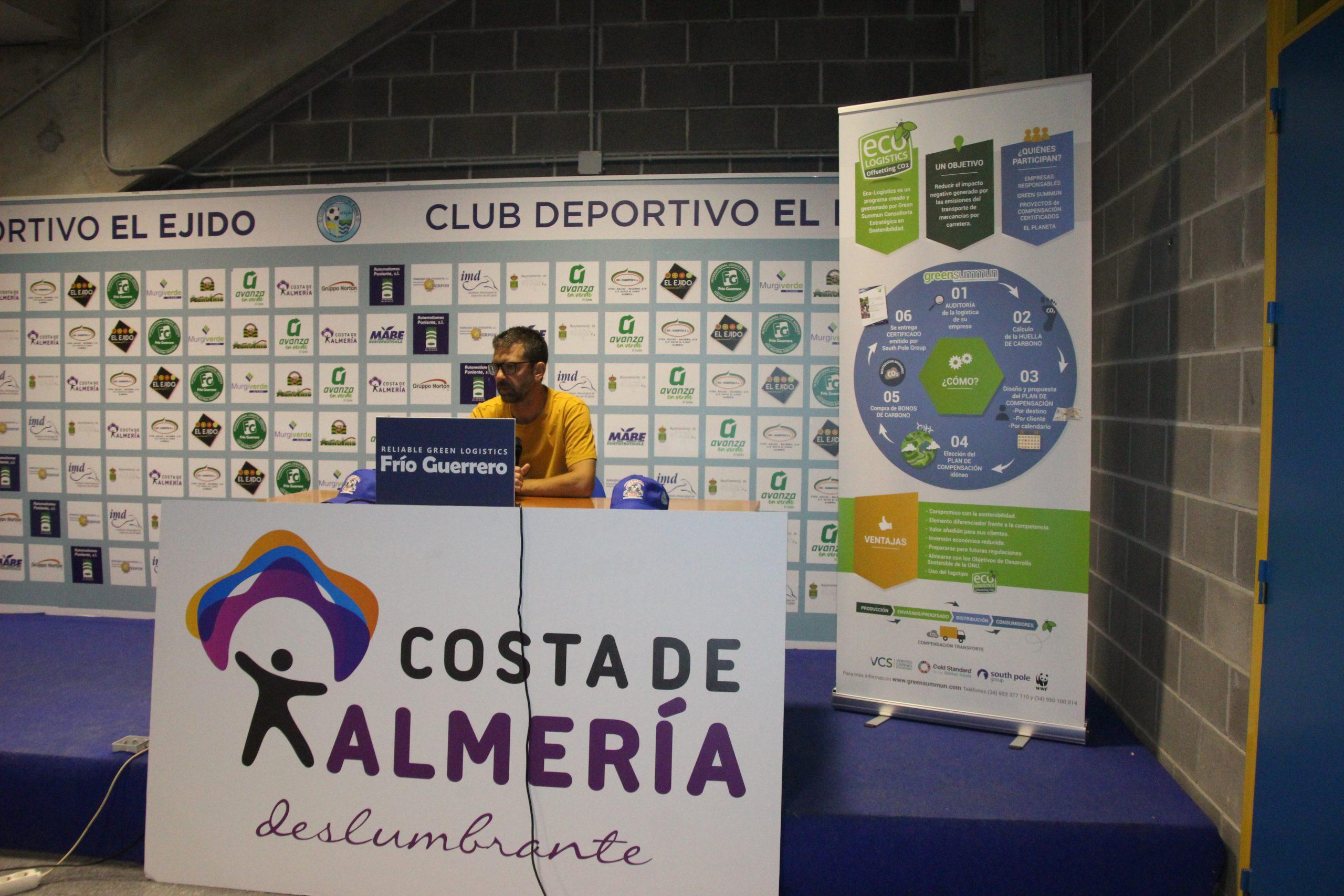 El CD El Ejido, a por todas frente al Linares Deportivo este domingo