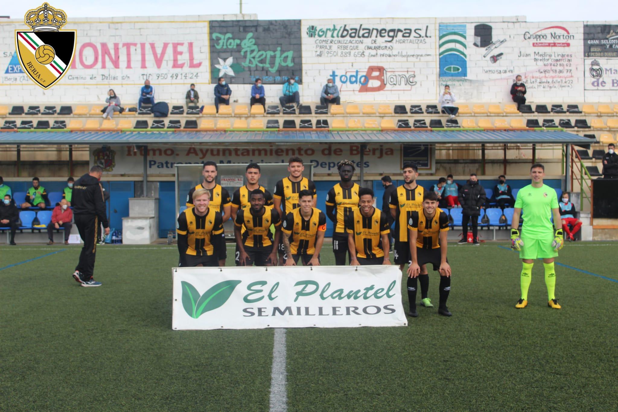 Victoria del Berja CF 3-1 frente al Guadix