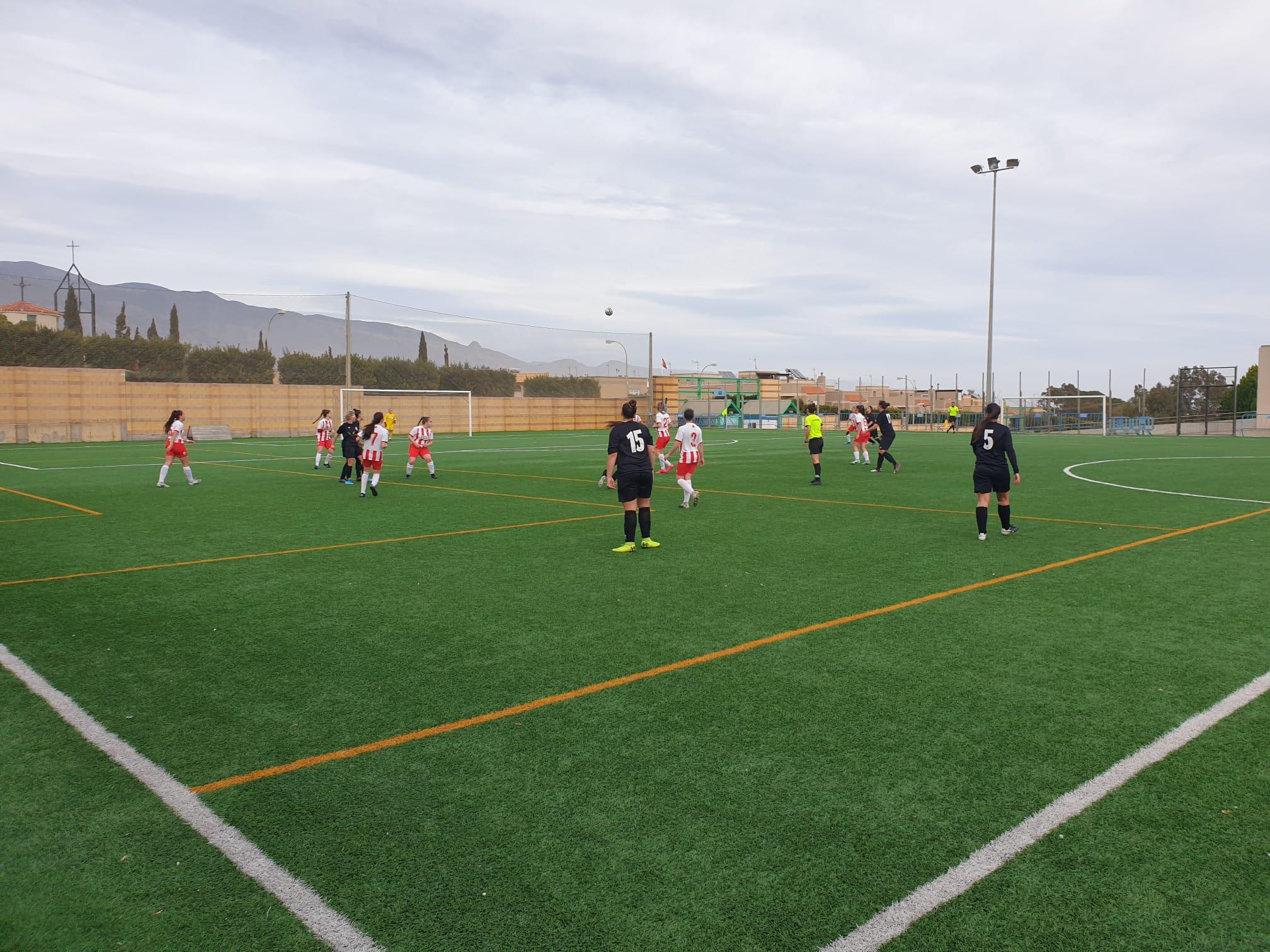Un mermado CD El Ejido Femenino por las lesiones cae 1-3 ante la UD Almería