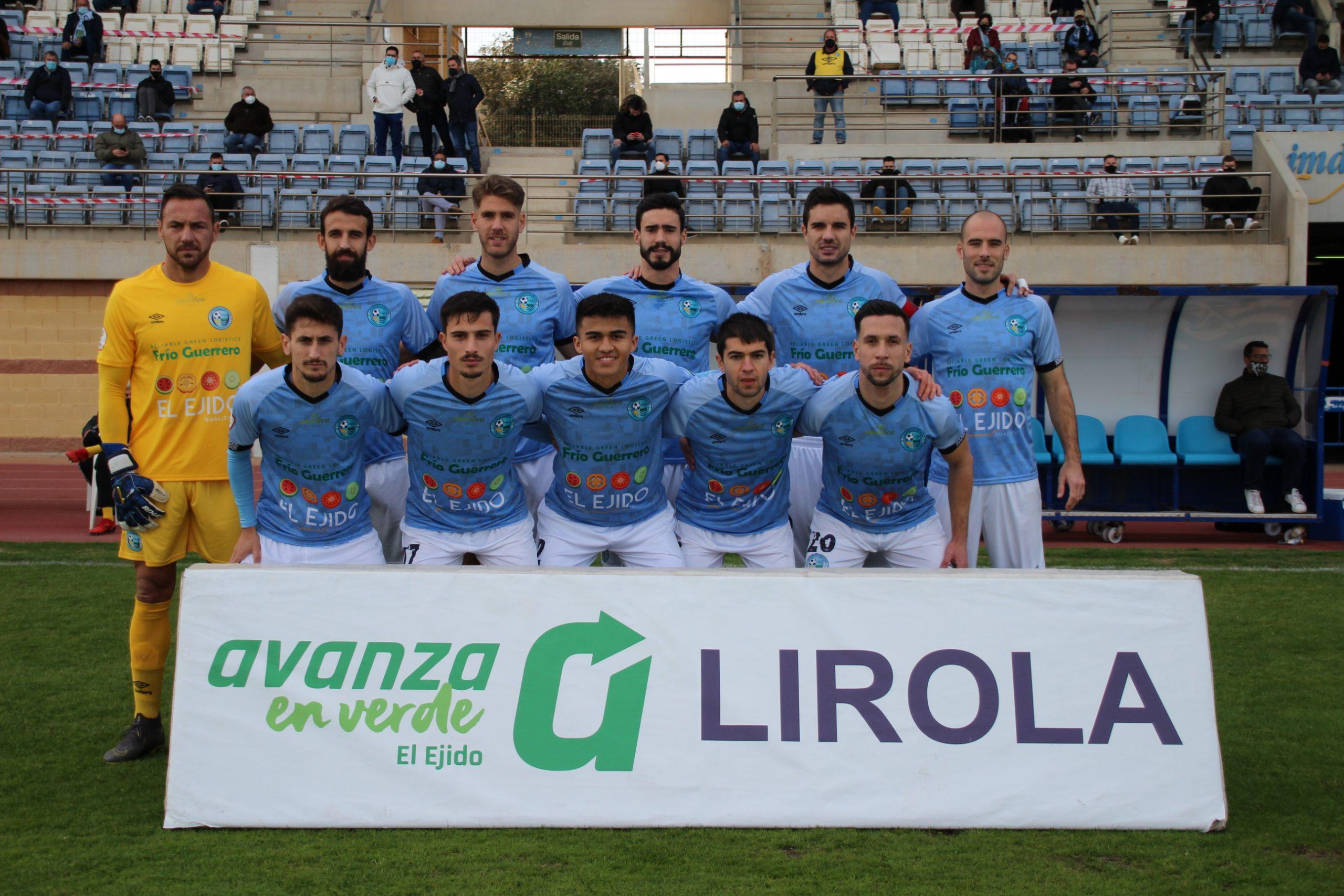 El CD El Ejido arranca 2021 con empate ante el Real Murcia