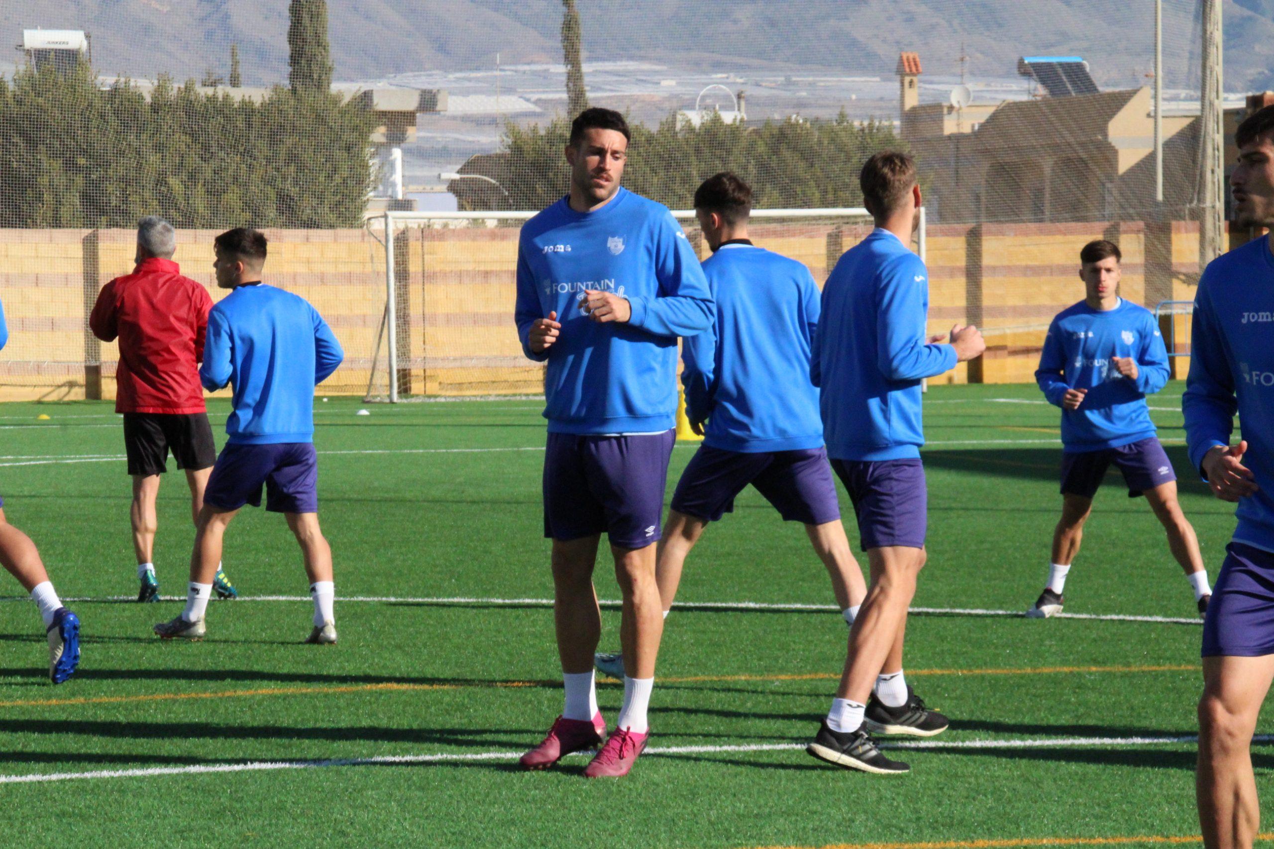 Rubén Palomeque reaparece en competición
