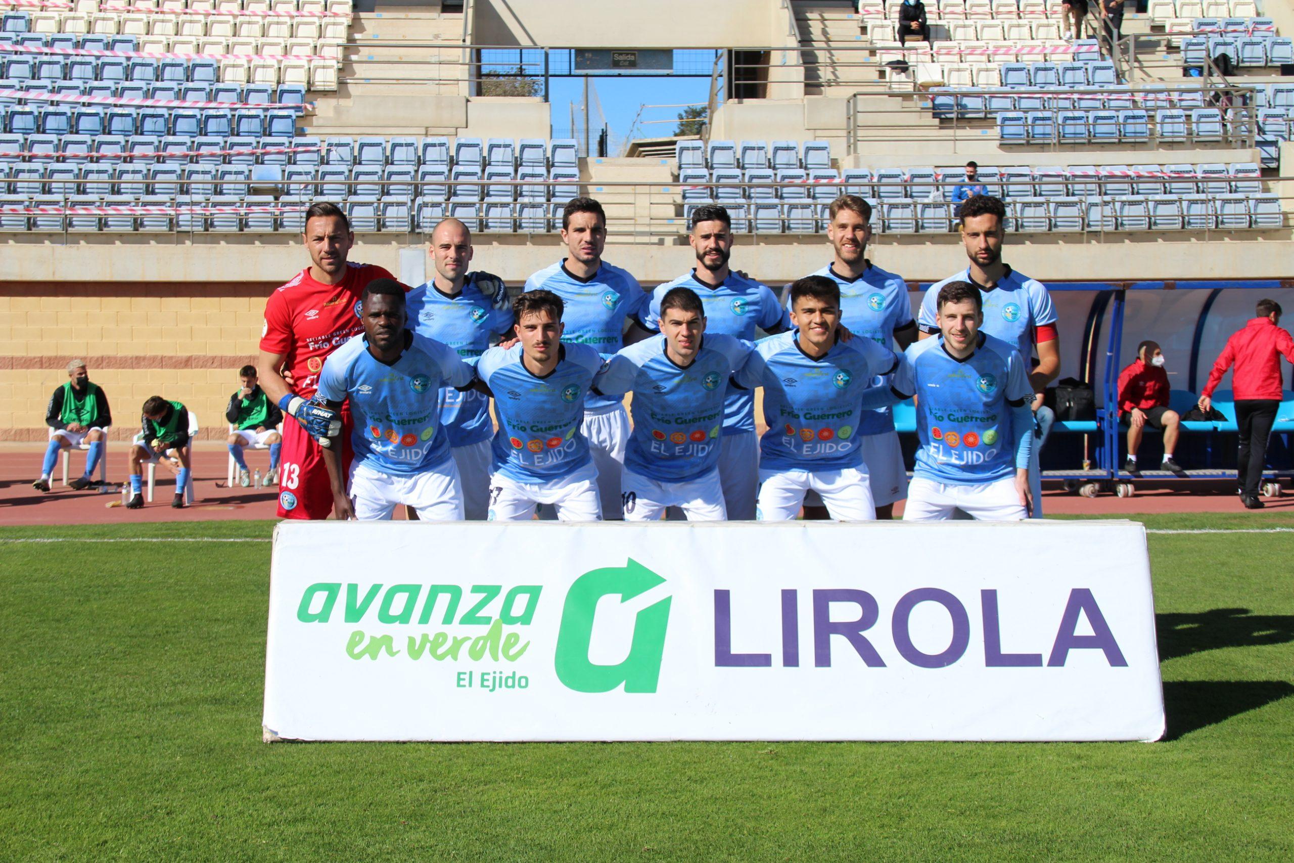 El CD El Ejido acaricia la victoria ante un UCAM Murcia que logró igualar