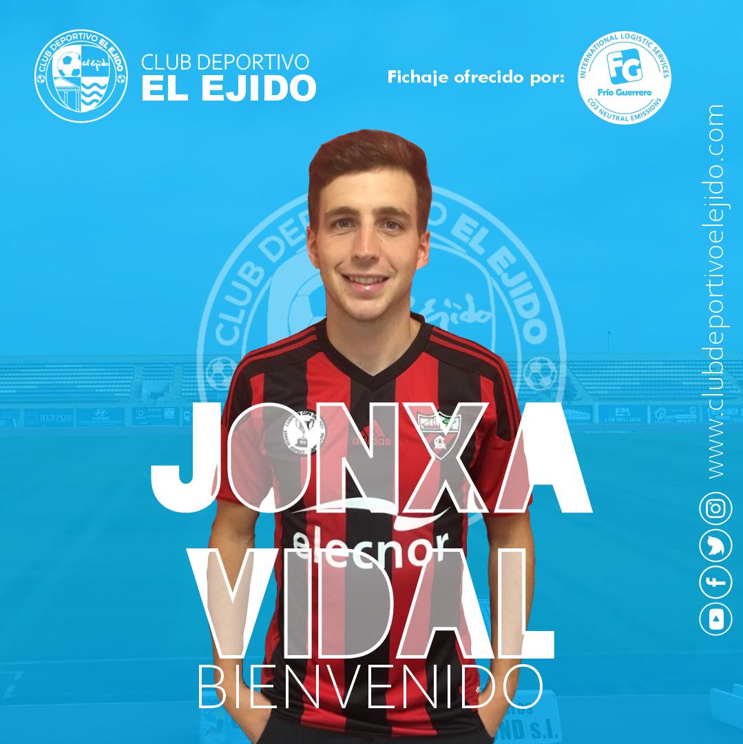 El CD El Ejido incorpora al lateral izquierdo Jonxa